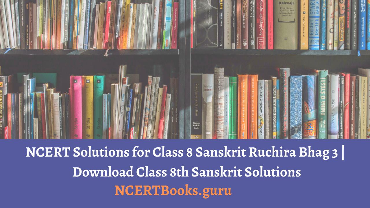 NCERT Solutions Class 8 Sanskrit