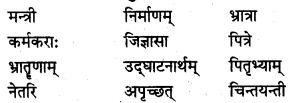 NCERT Solutions for Class 7 Sanskrit Chapter 14 अनारिकायाः जिज्ञासा 1