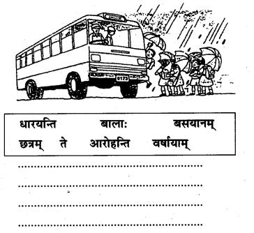 NCERT Solutions for Class 7 Sanskrit Chapter 14 अनारिकायाः जिज्ञासा 4