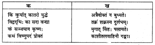 NCERT Solutions for Class 8 Sanskrit Chapter 15 प्रहेलिकाः Q2