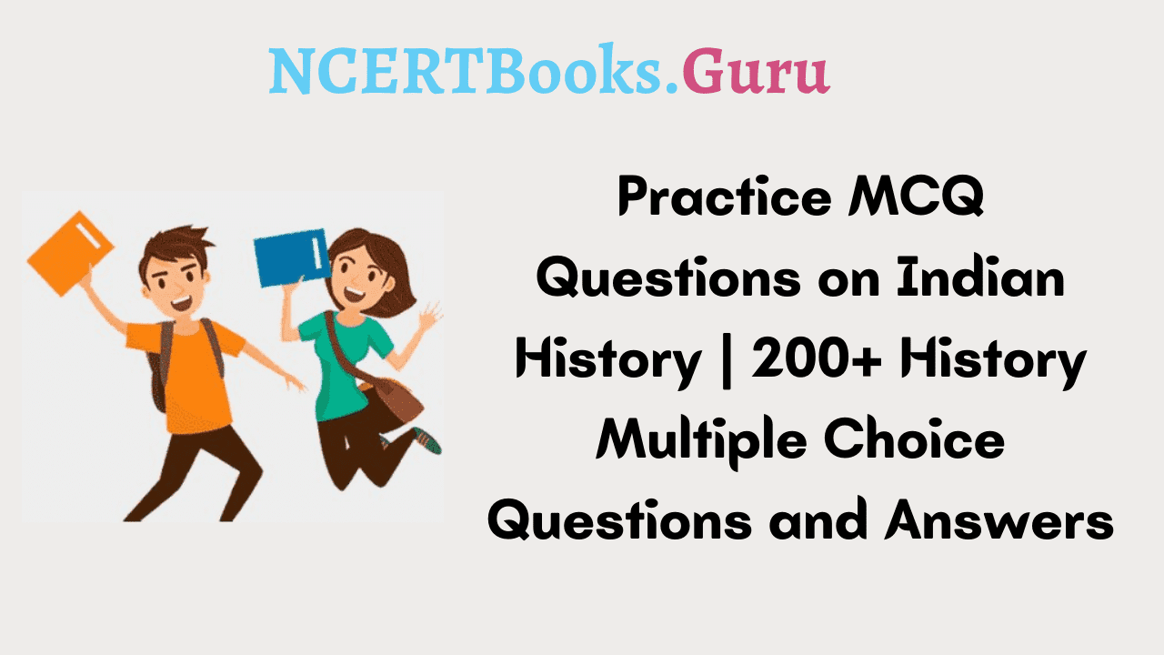 MCQ Questions on Indian History