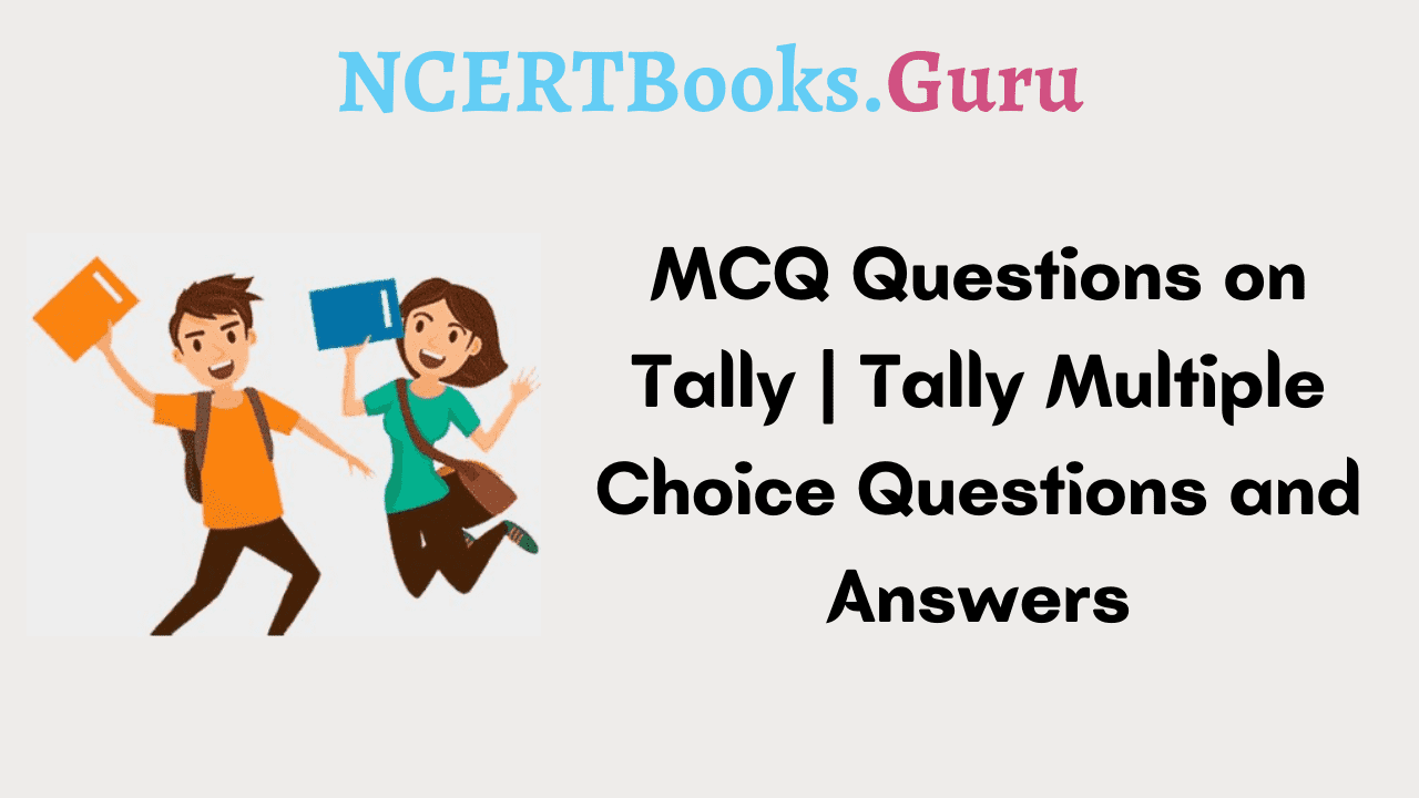MCQ Questions on Tally