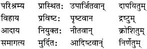 NCERT Solutions for Class 10 Sanskrit Shemushi Chapter 8 विचित्रः साक्षी 2