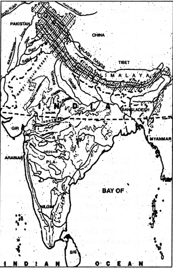 NCERT Solutions for Class 9 Social Science Geography Chapter 2 Physical Features of India 2