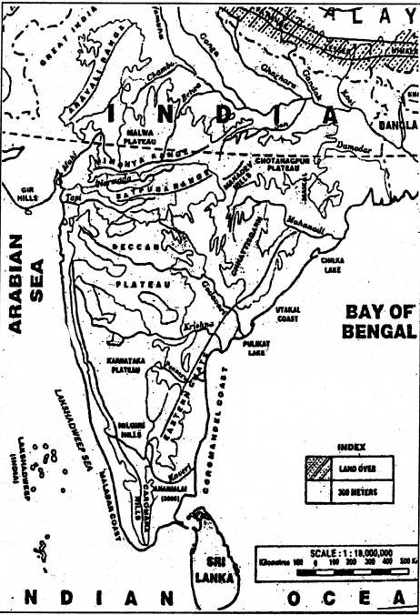 NCERT Solutions for Class 9 Social Science Geography Chapter 2 Physical Features of India 3